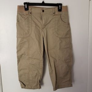 Lee Relaxed Fit Cargo Capri Size 10
